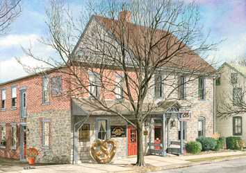 Lititz Pretzel House